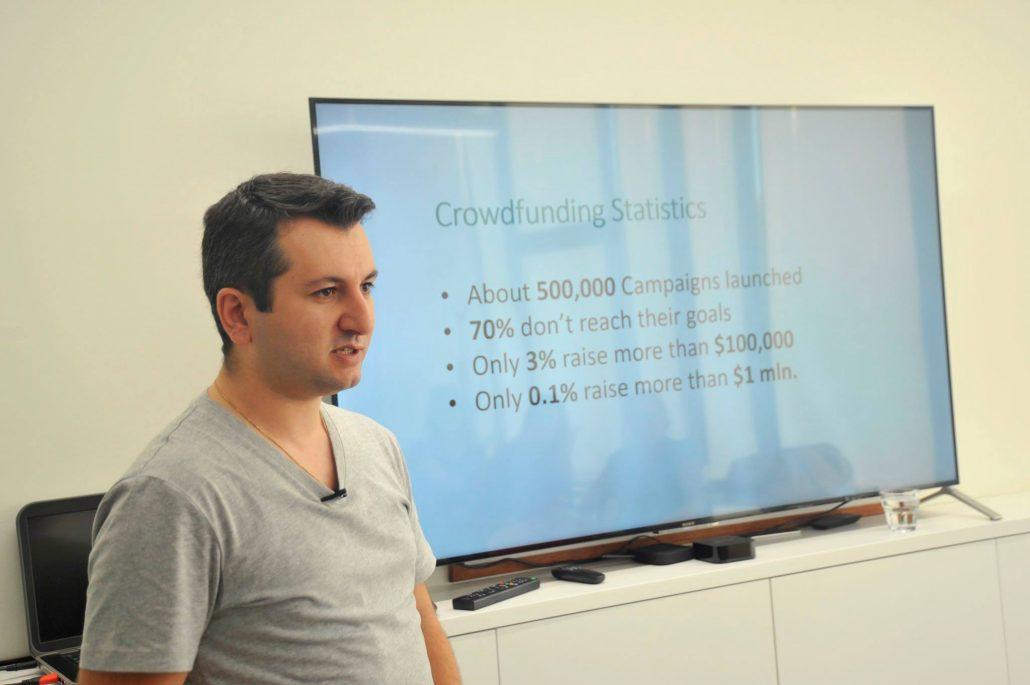 Narek Vardanyan at Impact Hub Yerevan