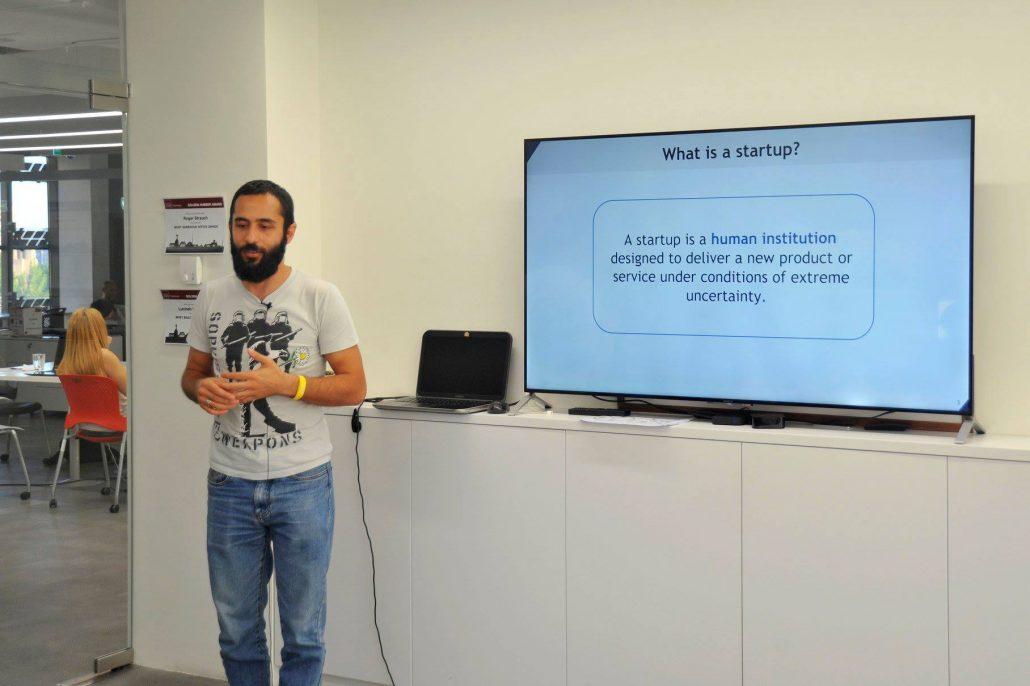 Hambardzum Kaghketsyan at Impact Hub Yerevan