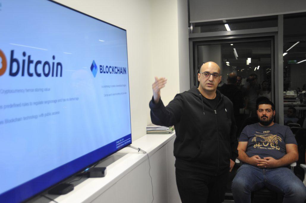 Vahe Andonians at Impact Hub Yerevan