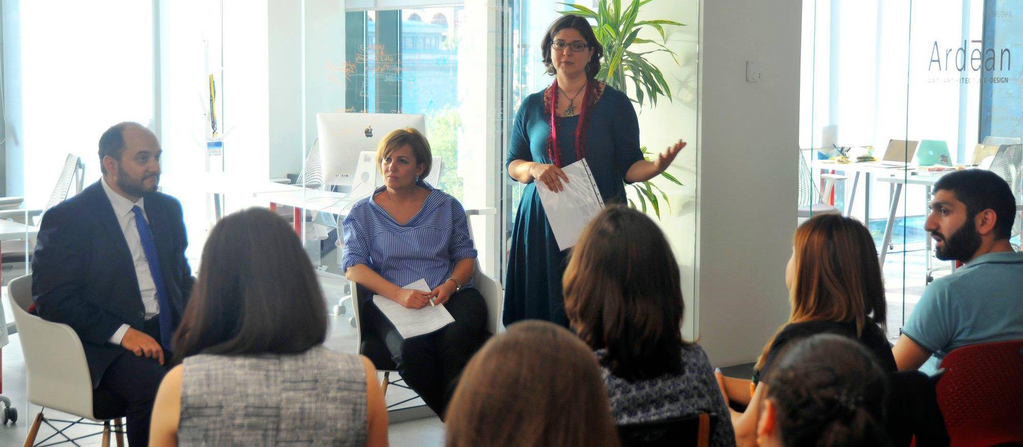 Professional facilitation at Impact Hub Yerevan