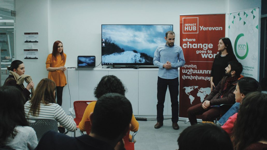 Zero Waste Yerevan Meetup at Impact Hub Yerevan