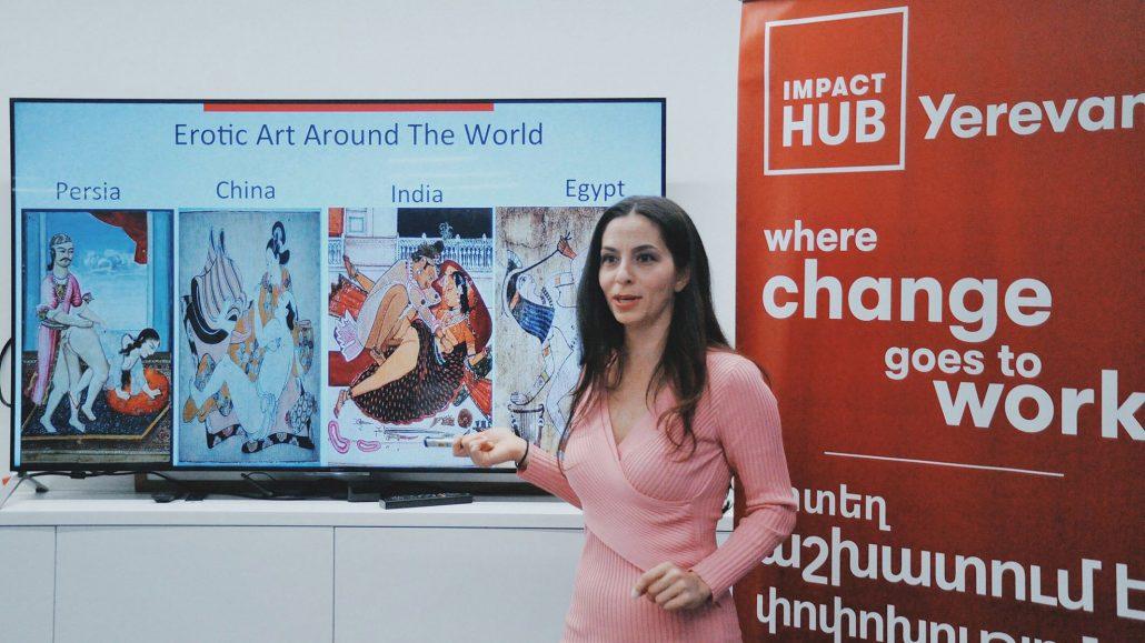Christina Antonyan at Impact Hub Yerevan