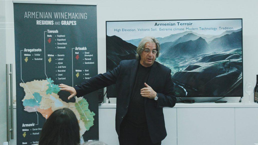 Vahe Keushguerian at Impact Hub Yerevan