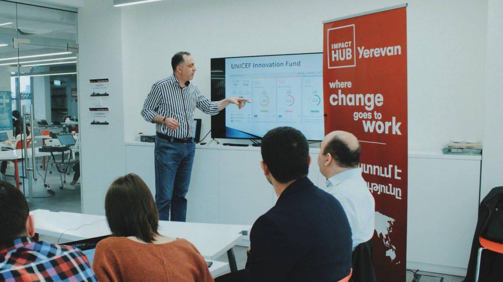 Tigran Sukiasyan at Impact Hub Yerevan