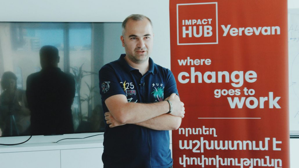 Arman Vermishyan Caucasus Nature Fund at Impact Hub Yerevan