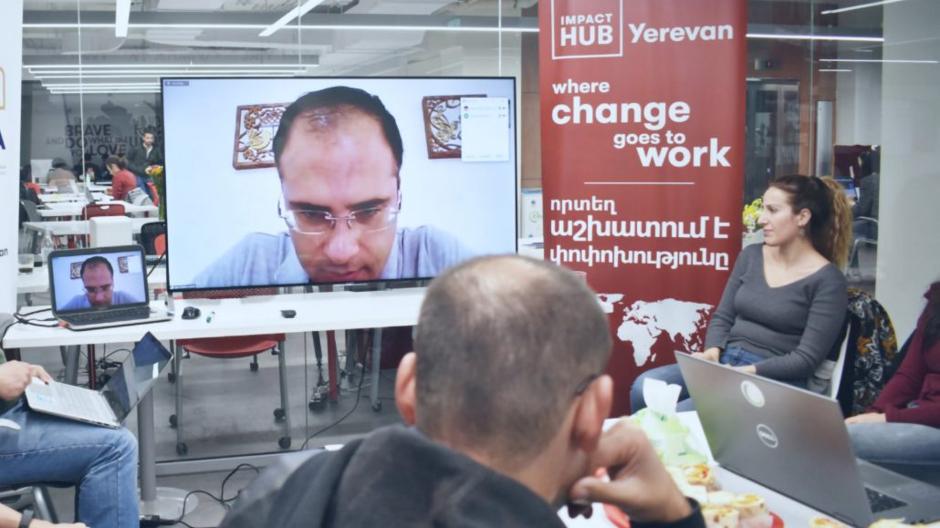 Diseclar at Impact Hub Yerevan